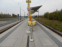 Ashton Moss Metrolink station, Oct 15.JPG