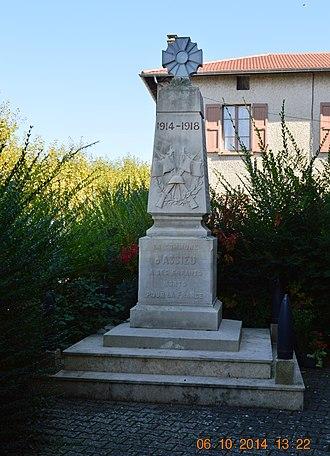 Assieu - Assieu War Memorial