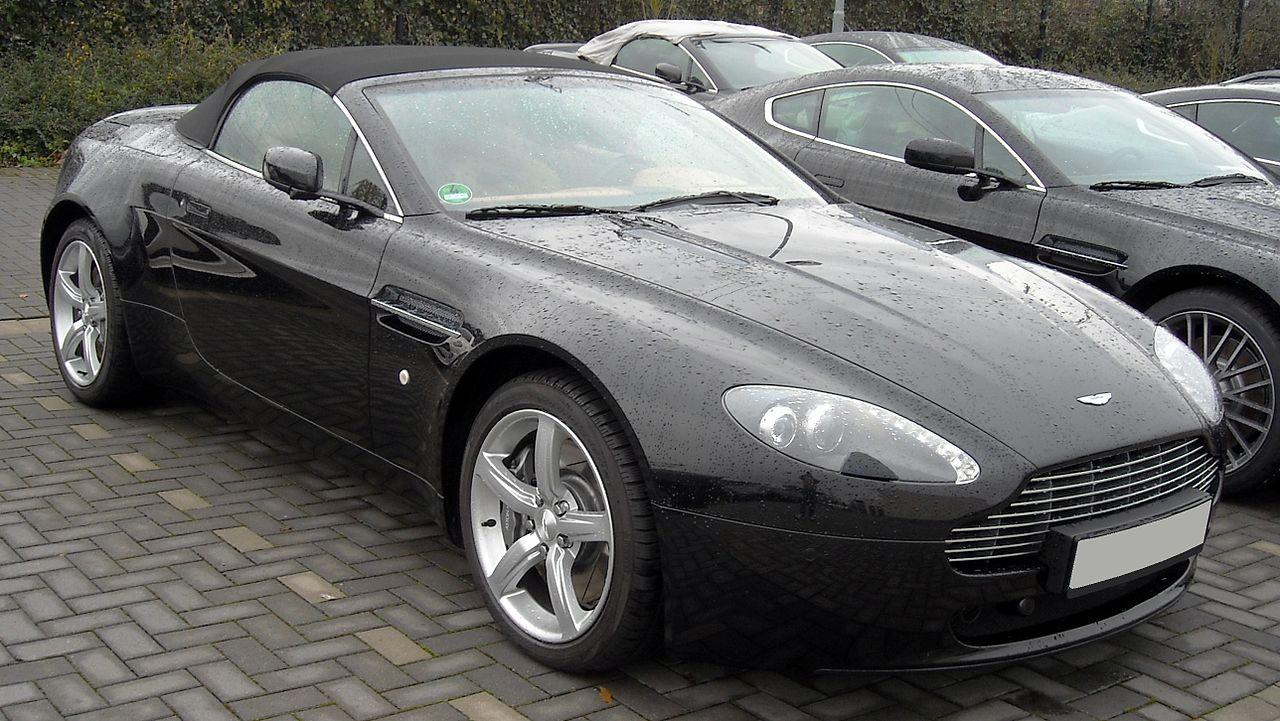 Datei Aston Martin V8 Vantage Roadster Front 20081204 Jpg Wikipedia