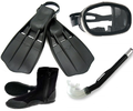 Atac military USAF spec ops scuba diving rocket fins diving mask boots and snorkel 480x.png