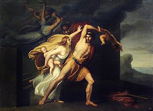 Ino (Greek mythology) - Image: Atamante preso dalle Furie 0014