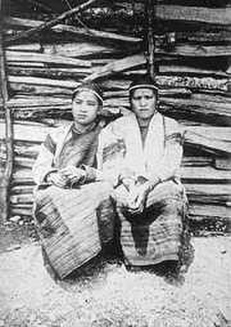 Atayal people - A Tayal couple in Japanese occupation period.