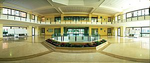 English: Picture of the inside of the Ateneo P...