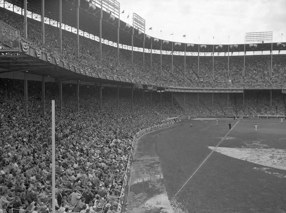 Athletics at Municipal Stadium circa 1962