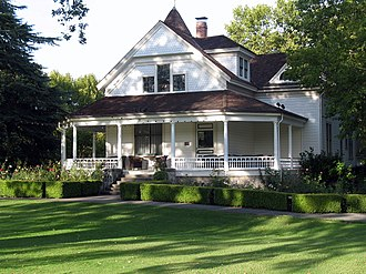 National Register of Historic Places listings in Napa County, California - Image: Atkinson House, 8440 St. Helena Hwy., Rutherford, CA 10 9 2011 5 12 15 PM