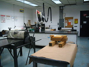 Atlanta College of Art - Atlanta College of Art Print Making Studio Spring of 2006.