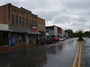 Attalla, Alabama - Downtown Attalla