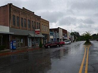 Attalla, Alabama - Downtown Attalla