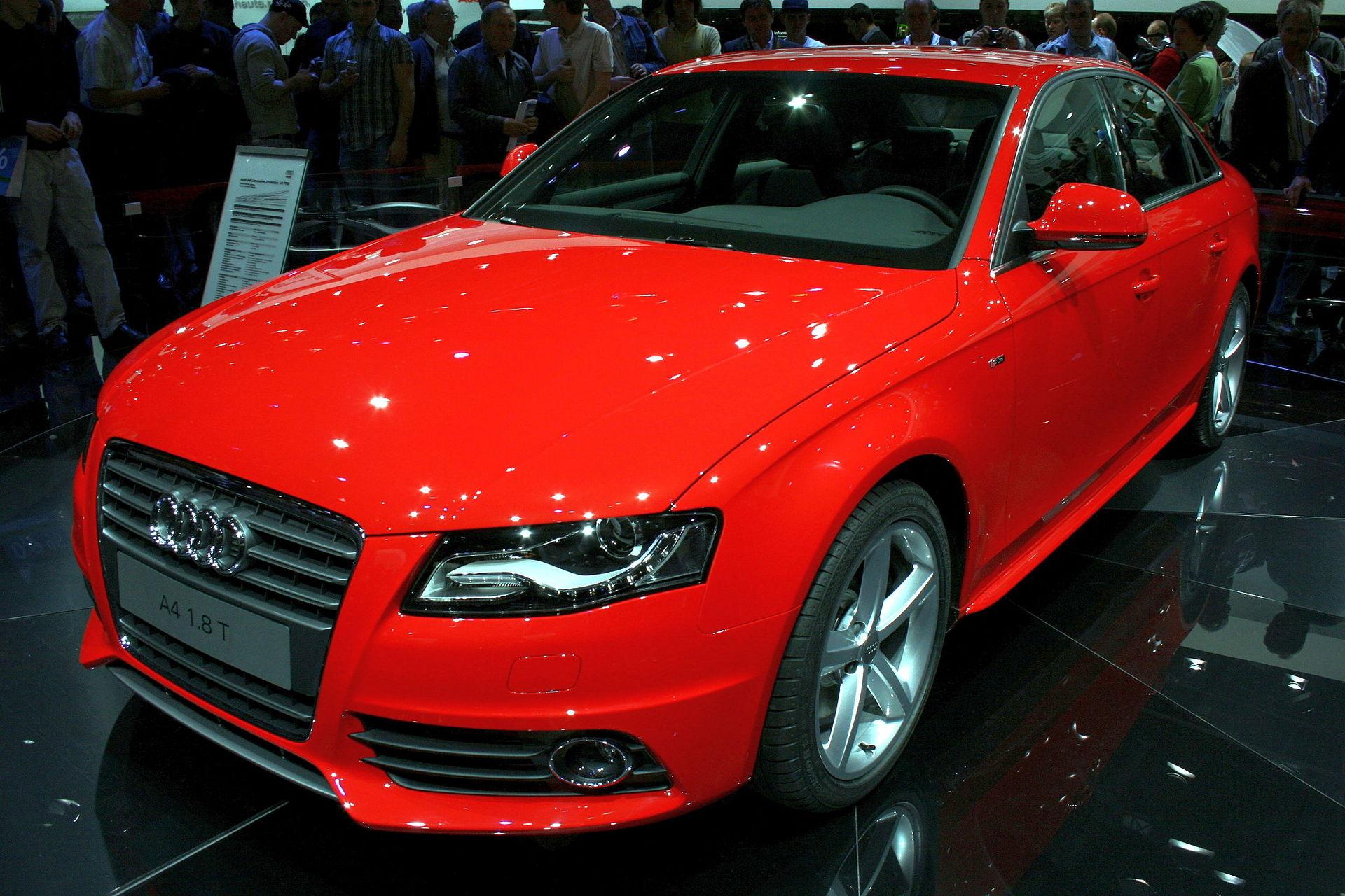 Audi A4 (B8) – Wikipedia