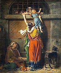 Les Adieux du consul Boetius à sa famille