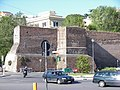 Aurelian wall near Pyramid of Caius Cestius.jpg