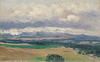 Aureliano Beruete y Moret View of the Sierra de Guadarrama from El Plantío 1901.jpg