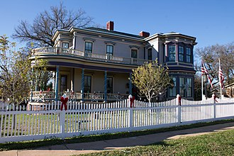 National Register of Historic Places listings in Bell County, Texas - Image: Austin House Belton Texas