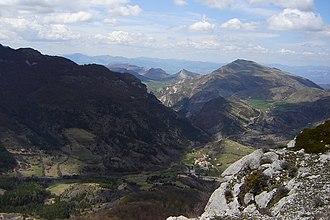 Authon, Alpes-de-Haute-Provence - The village in the Vanson valley