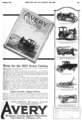Avery advert in Tractor and Gas Engine Review vol 14 no 1 p49 1921-01.png