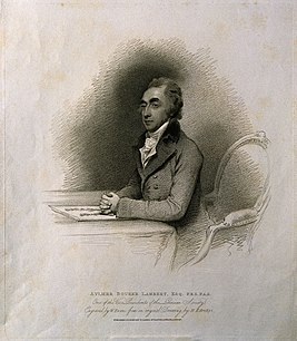 Aylmer Bourke Lambert. Stipple engraving by W. Evans, 1810, Wellcome V0003337.jpg