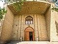 Azerbaijan Museum, Tabriz, Iran, and stone lions in entrance.jpg