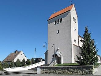 Bönen - Image: Bönen, die Christ König Kirche foto 5 2012 03 25 13.44