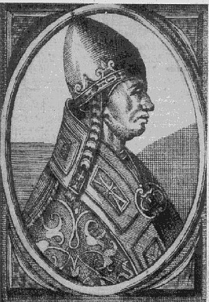 Pope Alexander III was the first Pope to address the situation of the Catholic mission in Estonia and Finland. B-Alexander III1.jpg