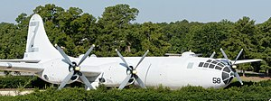 Dobbins Air Reserve Base - B-29 near the main gate