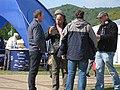 BBC film crew at the Three Counties Showground - geograph.org.uk - 1294131.jpg