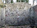 Back wall of the Newhailes Shell Grotto, interior, Musselburgh, East Lothian.jpg