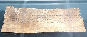 Antimachus I - The tax receipt, Oxford, Ashmolean Museum.
