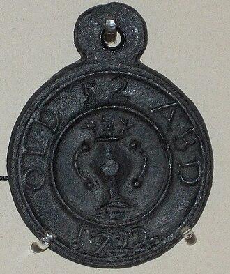 Beggars badges - Old Aberdeen Beggar's Badge
