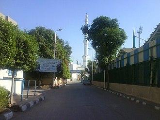 El Bagour - Image: Bagour stadium street
