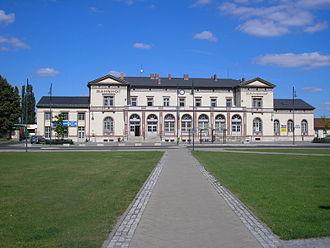 Mühlhausen - Mühlhausen station
