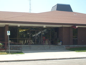 Fallon County, Montana - Image: Baker MT Fallon County Courthouse