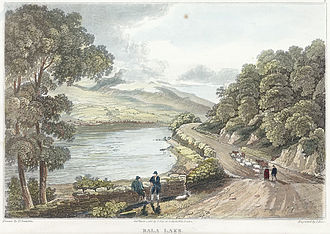 Bala Lake - Llyn Tegid, 1817