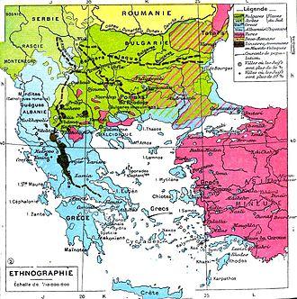 Kosovo Albanians - Image: Balkans ethnique