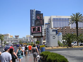 English: Bally's hotel (Las Vegas), Flamingo h...