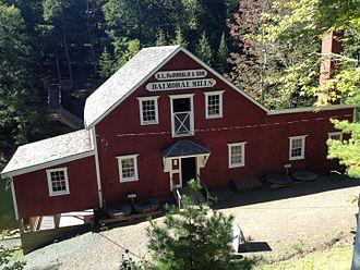 Balmoral Grist Mill Museum - Image: Balmoral Mills, Nova Scotia