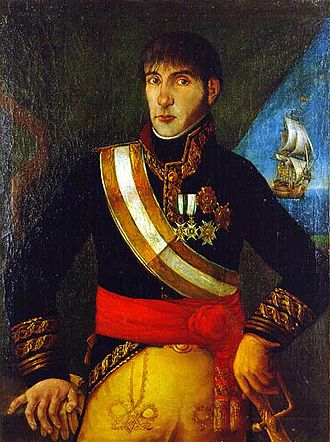 Rise of the Argentine Republic - Baltasar Hidalgo de Cisneros, the last viceroy ruling in Buenos Aires.