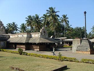 Banavasi - Madhukeshwara Temple at Banavasi