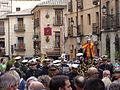 Banda, multitud, Coronación de la Virgen de la Estrella, Toledo, España, 2015.JPG