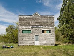 Bantry, North Dakota - Bantry Township Hall in Bantry