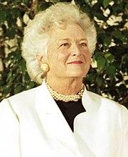 https://upload.wikimedia.org/wikipedia/commons/thumb/0/02/Barbara_Bush_1991.jpg/180px-Barbara_Bush_1991.jpg