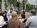 Barbican conservatory terrace at 12-30pm on Friday of Wikimania 2014 02.jpg