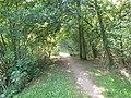 Barbora (rybník), přepad.jpg