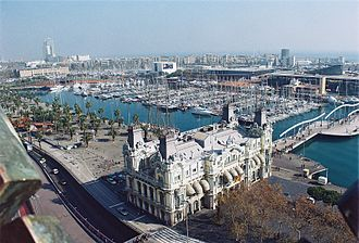 Water privatization - The water supply of Barcelona has been managed by a private company, Aguas de Barcelona, since 1867.