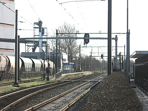 Barneveld Centrum railway station - Image: Barneveld station centrum