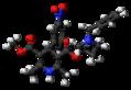 Barnidipine molecule ball.png