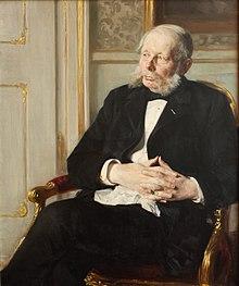 Otto rosenørn lehn 1891 portræt af p s krøyer i statens museum