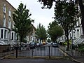 Barrier across Balfour Road - geograph.org.uk - 1466815.jpg