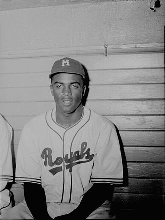 Jackie Robinson - Robinson with the Montreal Royals in July 1946