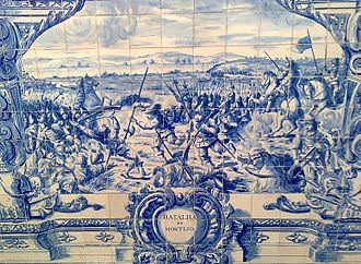 Battle of Montijo - The Battle of Montijo (Military Museum of Lisbon)