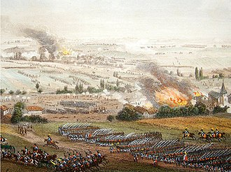 Battle of Ligny - Battle of Ligny by Theodore Yung